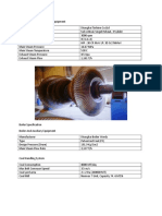 Steam Turbine and Auxiliary Equipment