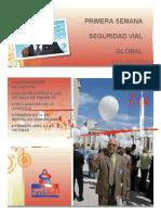 Primera Semana Mundial de La Seguridad Vial