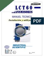 Manual técnico de transmisor OLCT60