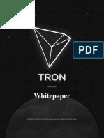 Tron Whitepaper 1031 V18 En