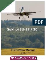 Su 27 Instruction Manual Ver 1 4