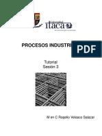 Procesos Industriales Sesión 3