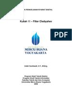 Kuliah Filter Chebyshev