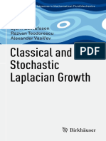 (Advances in Mathematical Fluid Mechanics) Björn Gustafsson, Razvan Teodorescu, Alexander Vasil'Ev (Auth.)-Classical and Stochastic Laplacian Growth-Birkhäuser Basel (2014) (1)