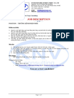 Job Description - Form Chuan