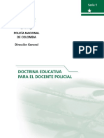Doctrina Educativa Para El Docente Policial