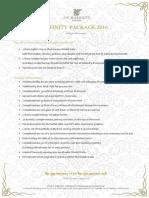 JKTJW - Wedding Package 2016 - 800pax Infinity (New)