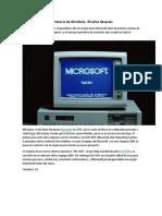 La Historia de Windows (1)