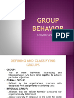 Groups & Work Teams ppt