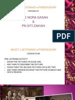 Nora & Ct Zakiah Muet Lesson Plan - Friendship