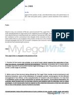 Mauricio C Ulep vs Legal Clinic Inc