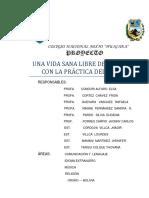 Proyecto Sociocomunitario Productiv 2014