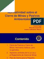 004__Cierre de Minas y PAsivos Ambientales (REGIONALES)