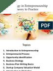 Technology in Entrepreneurship