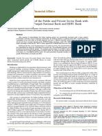 Comparison of NPA of PNB & HDFC