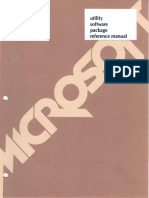 Macro Assembler 1981 Microsoft 8086 Utility Software Package