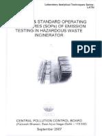 METHODS & STANDARD OPERATING PROCEDURES (SOPs) OF EMISSION TESTING IN HAZARDOUS WASTE INCINERATOR.pdf