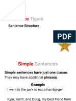 Simple Compound and Complex Sentences Lesson