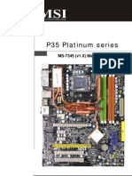 MSI Mainboard MS-7345 (v1.X) user manual