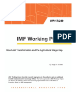Structural Transformation and the Agricultural Wage Gap