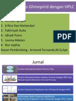 Analisis Glimepirid Dengan HPLC