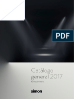 Catalogo General Iluminacion Interior Led Simon 2017
