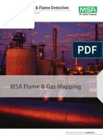 Mapping Gas and Flame Detectors