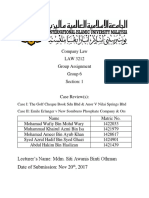 Law 3212 Cases Review Final Compiled