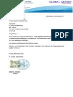 Surat Permintaan Batal Order
