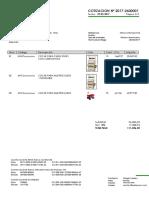 VENT004 Orden de Cotizacion Modelo Metax