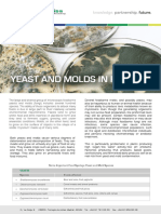 Yeast and Mold in Food