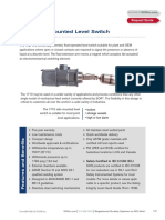 1710 Side Mounted Level Switch Cat864