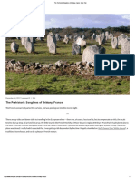 The Prehistoric Songlines of Brittany, France - Mike Pole