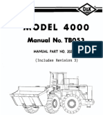 4000-Tb053 Wheel Loader