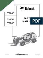 Bobcat Telehandler t3571-t3571l
