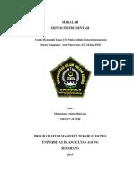 Cover UTS Sistem Instrumentasi