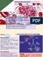 Medicatia anticoagulanta