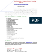 International Journal on Foundations of Computer Science Technology IJFCST