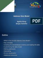 Address Data Model