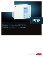 1MRK505178-UEN C en Technical Reference Manual Busbar Differential Protection IED REB 670 1.1