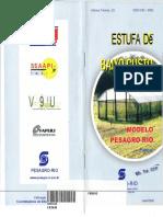 Folheto - Pesagro RJ - Estufa de Baixo Custo