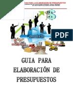 Guia de Presupuestos