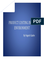 SAP & Costing by Yogesh Gadre