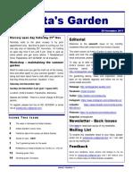 anitas garden newsletter - 24 november 2017
