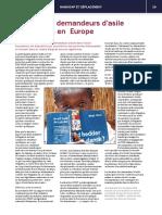 Accueil des demandeurs d'asile handicapés en Europe