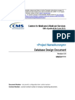 Database Design Document