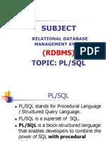 PLSQL