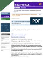 Criterios de evaluación de materiales en la red
