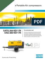 250-350 CFM (100-150 PSI) Kubota Engine Diesel Portable Air Compressor_tcm795-3586101