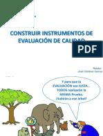 Construir Instrumentos de Evaluación de Calidad
